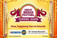 Amazon Great Indian Festival Sale 2020: Upto 90% Off On Upcoming Festive Deals