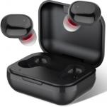 Ambrane NanoBuds Bluetooth Headset(Black, True Wireless)