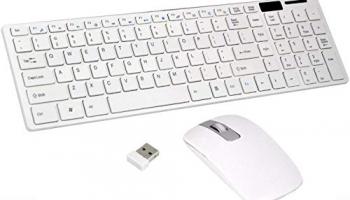 CHARITRA ENTERPRISE® Wireless Keyboard Mouse 2.4GHz Combo Kit