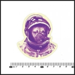 GADGETS WRAP Exclusive Sales Shar Pei Astronaut Cigars Notebook Car Styling On Laptop Stickers [Single]