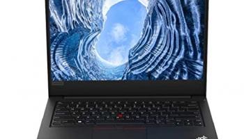 Lenovo ThinkPad E490 Intel Core i3 8th Gen 14-inch HD Thin and Light Laptop (4GB RAM/ 1TB HDD/ DOS/ Black/ 1.75 kg), 20N8S11G00