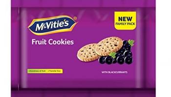 McVities Fruit Cookies, 600 g