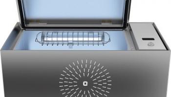 Orient Electric UV Sanitech Sanitizer Box(Silver, 34 L)